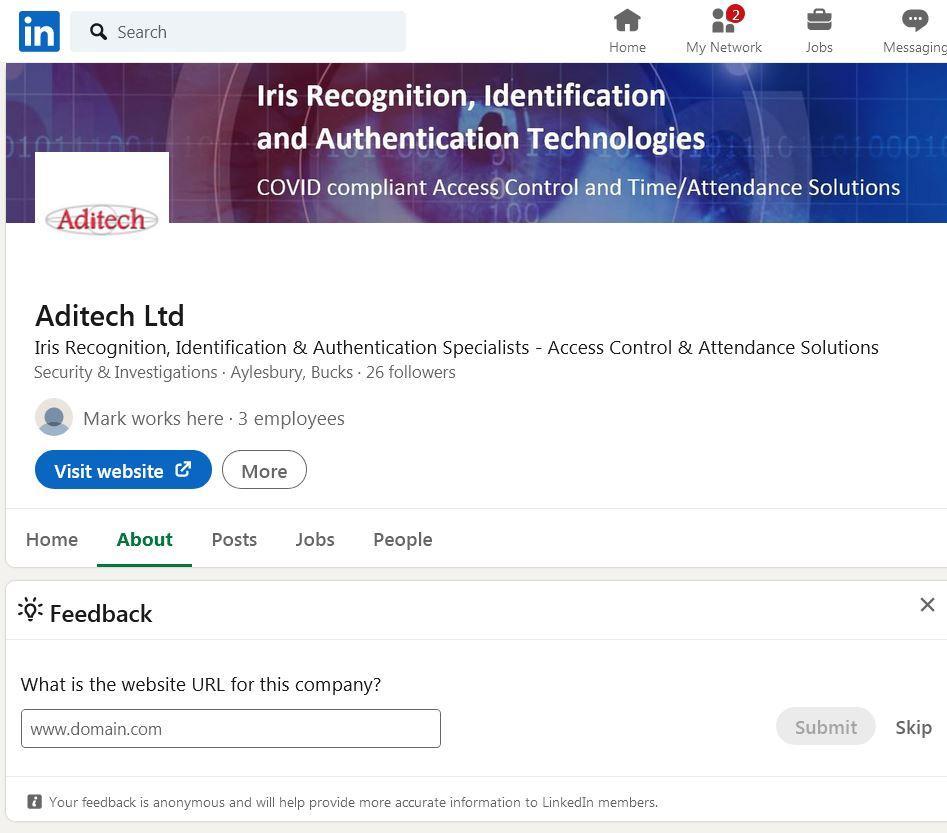Aditech linkedin