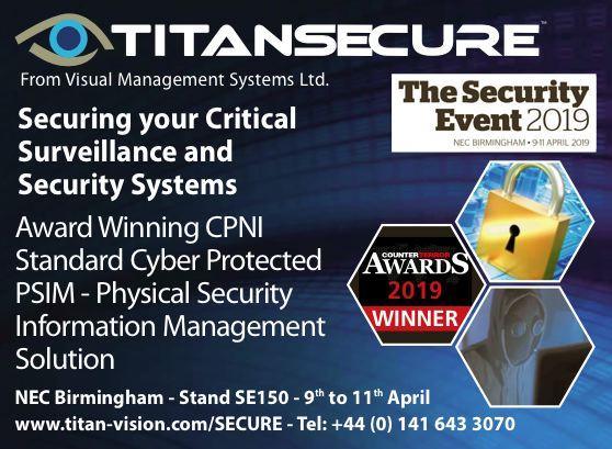 The Security Event - TITAN SECURE Splash - content & design